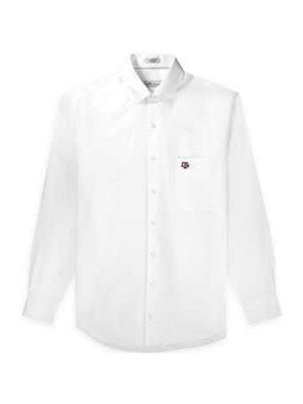 Texas A&M Peter Millar Crown Pinpoint Woven Button Down