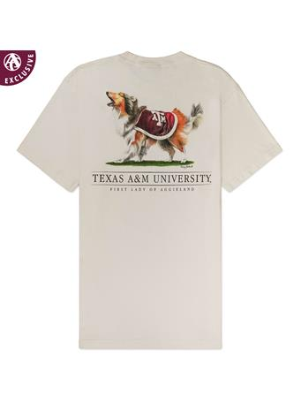 Texas A&M Reveille First Lady of Aggieland T-Shirt