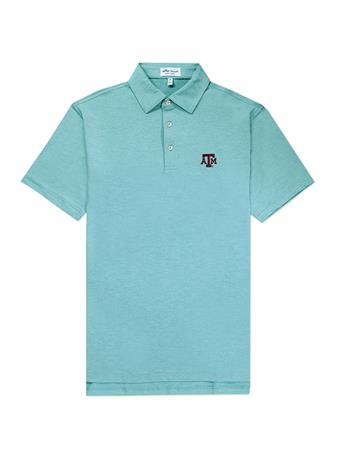 Texas A&M Peter Millar Solid Stretch Jersey Polo