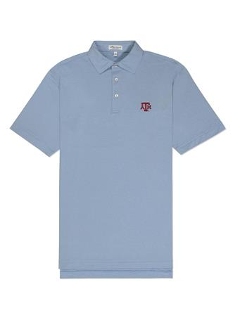Texas A&M Peter Millar Jubilee Stretch Polo