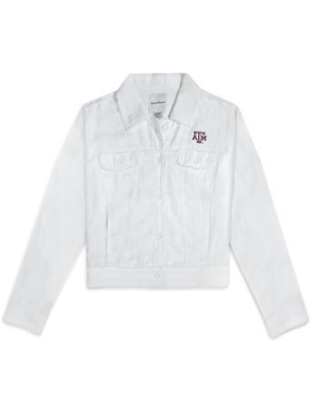 Texas A&M Tommy Bahama Two Palms Raw Edge Jacket
