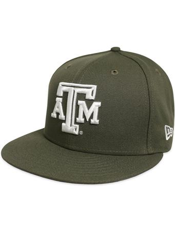 Texas A&M New Era Beveled Flat Bill Snapback
