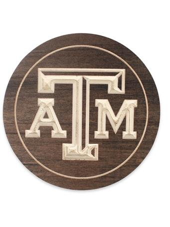 Texas A&M Wooden Trivet
