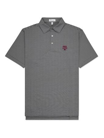 Texas A&M Peter Millar Block ATM Stripe Jersey