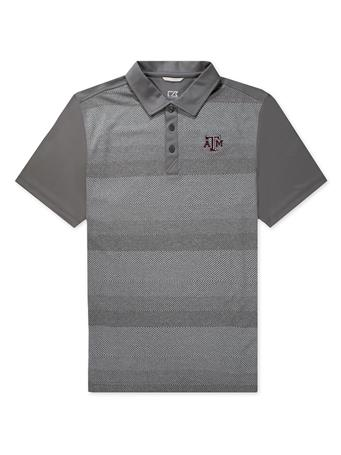 Texas A&M Cutter & Buck Crescent Chiseled Polo