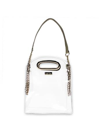 The Cooper Gold Stadium Crossbody Bag