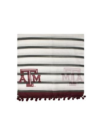 Texas A&M Dylan Striped Scarf