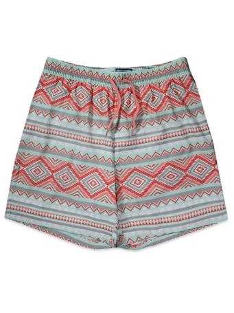 BURLEBO Aztec Swim Trunks
