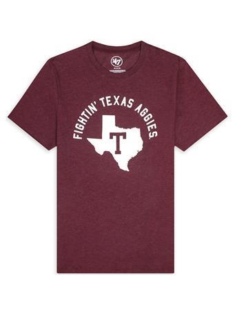 Texas A&M '47 Brand Fightin' Texas Aggies Vault Club Tee