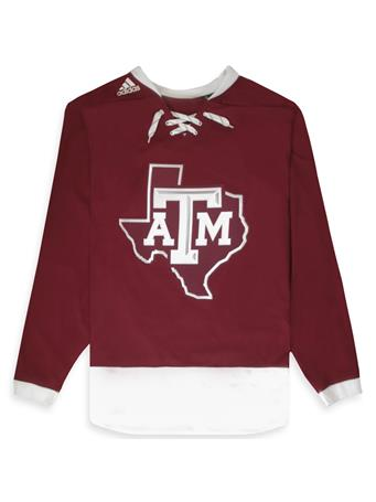 Texas A&M Adidas Sport Fusion Hockey Jersey