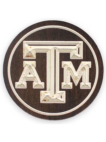 Texas A&M 2 Pack Wooden Coasters