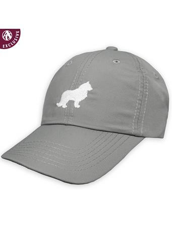 Texas A&M White & Grey Reveille Hat