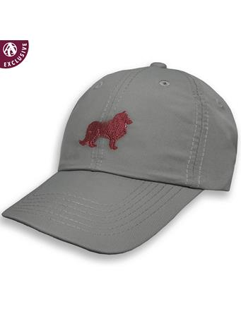 Texas A&M Maroon & Grey Collie Structured Hat