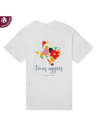 Texas A&M Aggies Summer Floral T-Shirt