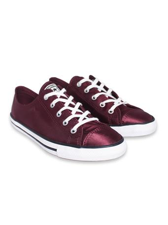 Maroon Converse All Star Women's Shoes