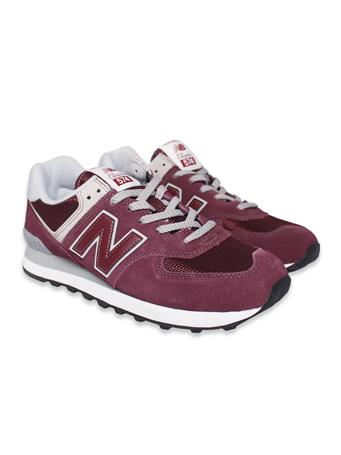 Maroon New Balance Men's Tennis Shoes