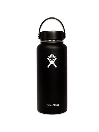 Black 32oz. Wide Mouth Hydro Flask