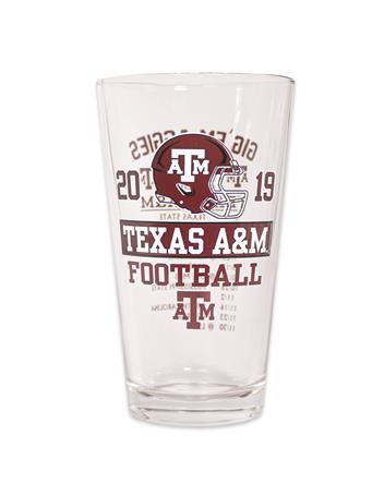 2019 Texas A&M Football Schedule Glass