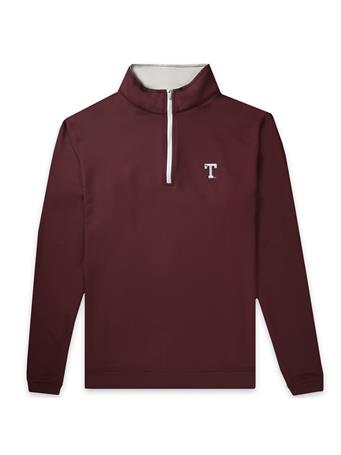 Texas A&M Peter Millar Perth Block T Quarter Zip