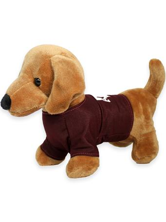 Texas A&M Aggie T-Shirt Dachshund Stuffed Animal