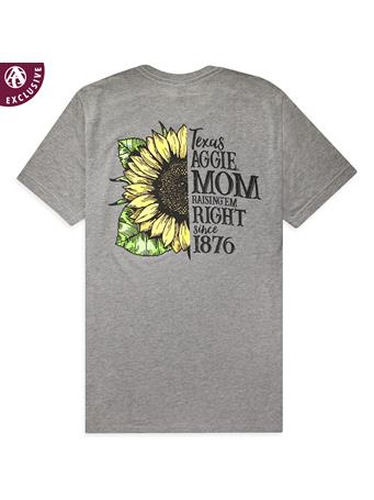 Texas A&M Aggie Mom Sunflower T-Shirt