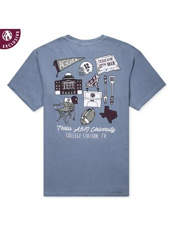 Texas A&M Football Tailgate Mix T-Shirt