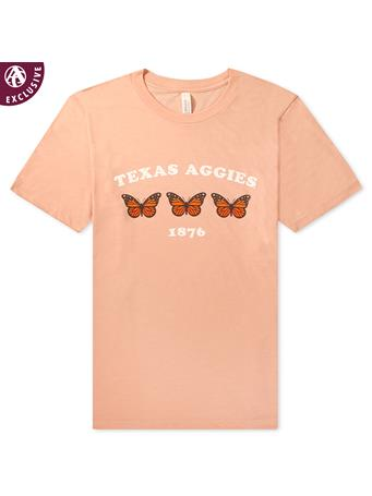 Texas A&M Aggies Butterfly T-Shirt