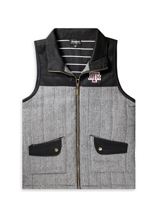 Texas A&M Prep For It Knit Vest