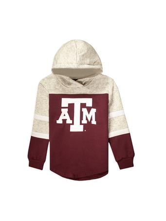 Texas A&M Colosseum Girl's Block ATM Fleece Hoodie