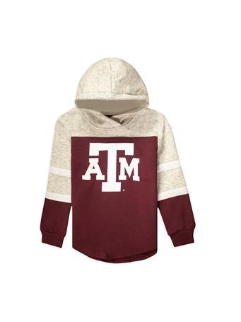Texas A&M Colosseum Girl's Block ATM Fleece Hoodie