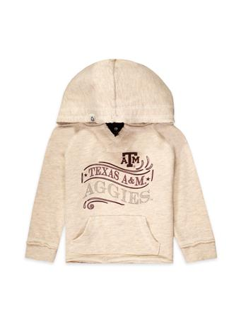 Texas A&M Colosseum Toddler Girl's Terry Hoodie