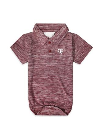 Texas A&M Infant Spacedye Golf Creeper Onesie