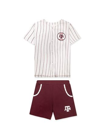Texas A&M Colosseum Youth Barney Baseball Set