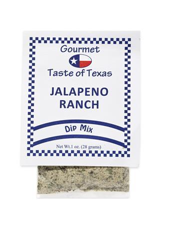 Gourmet Taste of Texas Jalapeño Ranch Dip Mix