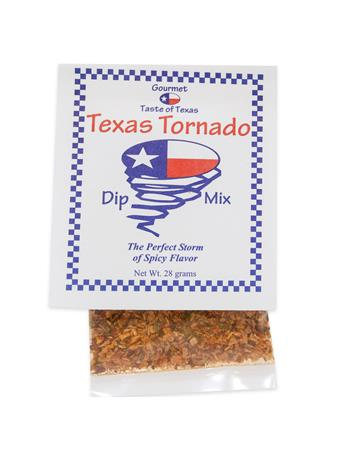 Gourmet Taste of Texas Tornado Dip Mix