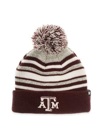 Texas A&M Youth Bubbler Cuff Knit Beanie
