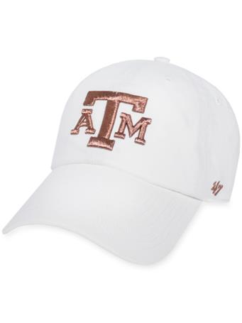 Texas A&M '47 Brand Rose Gold Clean Up Cap