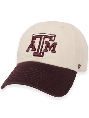 Texas A&M '47 Brand Two Tone Clean Up Cap