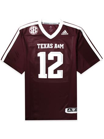 Texas A&M Adidas Men's Premier Football Jersey