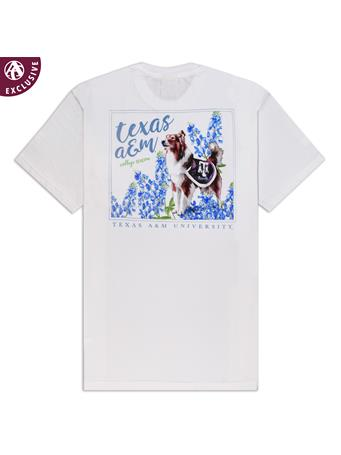 Texas A&M Reveille Bluebonnet T-Shirt