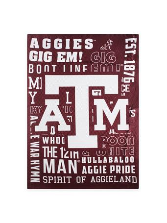 Texas A&M Decorative Fan Rules Flag