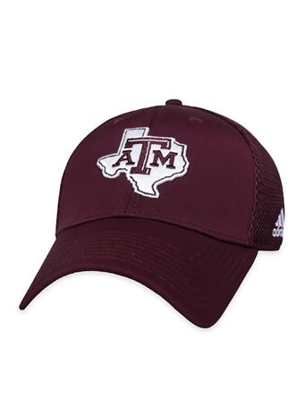 Texas A&M Coach Structured Adj Mesh Back Lonestar