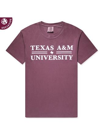 Texas A&M Double Line T-Shirt