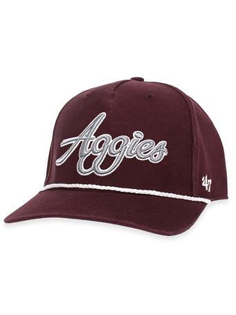 Texas A&M '47 Brand Aggies Overhand Script MVP Rope Cap