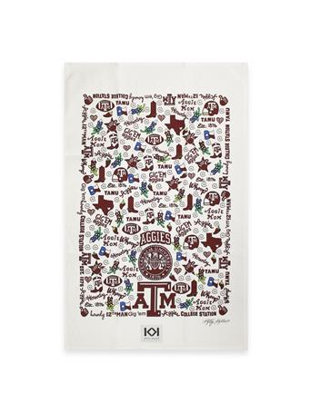 Texas A&M Traditions Tea Towel