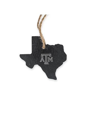 Texas A&M State Slate Ornament