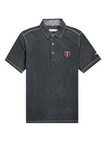 Texas A&M Tommy Bahama Sport Palmetto Paradise Polo
