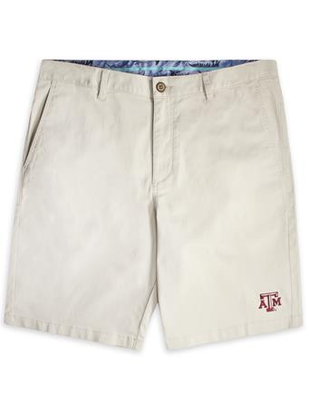 Texas A&M Tommy Bahama Boracay Cream Shorts