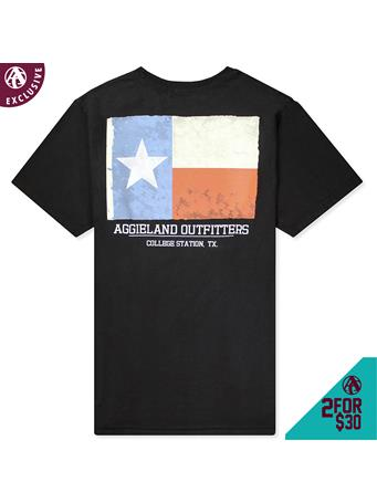 Texas A&M Aggieland Outfitters Texas Flag T-Shirt
