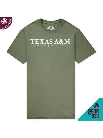 Texas A&M University Basic Bold T-Shirt